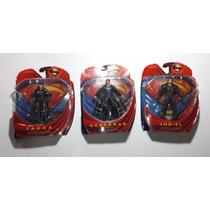 Man Of Steel Superman, Jorel, Faora - Nuevos