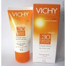 Bloqueador Solar Protector Capital Soleil Toque Seco Vichy