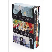 Neil Gaiman/chris Riddell 3-book Box Set: Coraline; The Grav