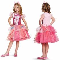 Vestido Disfraz Niña Mi Pequeño Pony Pinkie Pie Deluxe