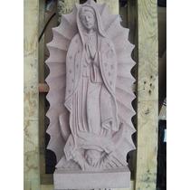 Virgenes De Guadalupe Hechas De Cantera Natural De 40 Cm Alt
