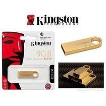 Memoria Usb Kingston 8g Usb Datatraveler Ge9 Oro Dtge9/8gbz
