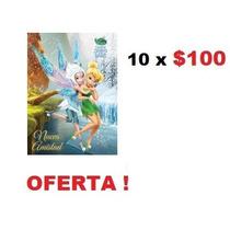 Paquete De 10 Libros Para Colorear Fiesta Piñata Campanita