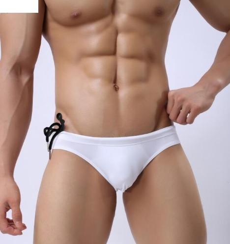 fd07fa5e Bañador Bikini Hombre Traje De Baño Blanco Brave Person