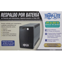 Ups Tripplite® 800 Va No Break Respaldo De 30 Mins 400 Watts