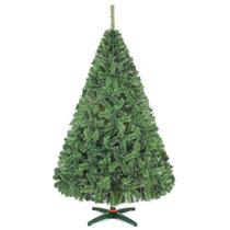 Arbol De Navidad Monarca De Lujo Verde Nevado 190cm Alt