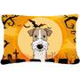 Terrier De La Tela De Halloween Cabelludo Del Alambre Fox Al