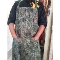 Mandil Chef Pixeleado Camuflaje