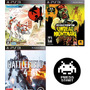 Pack Battlefield 4, Okami Hd Y Red Dead Redemption Ps3