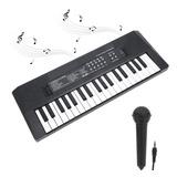 Teclado Eléctrico 37 Teclas Piano Instrumento Musical Juguet