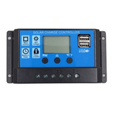 Controlador O Regulador De Carga De 20 Amps