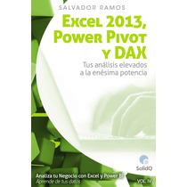 Excel 2013 Power Pivot Y Dax - Libro Digital - Ebook