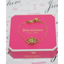 Remate Mca.juicy Couture Pulsera De Corona Para Una Reina.
