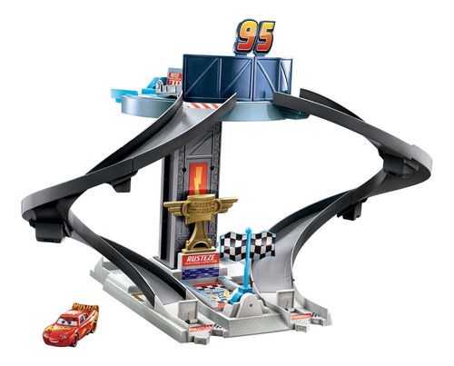 Disney Pixar Cars, Pista De Entrenamiento Rust-eze