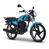 Moto Italika Dt125sport Azul Negro
