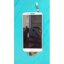 Lcd Display + Touch Celular Lg Optimus G2 D802 D805 Blanco