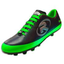 Tenis Zapato Futbol Rapido R55 Verde Neon Ruggel Galgo