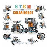 Ciro Kit Robot Solar 12 En 1 Educativo Stem Aprendizaje Cie