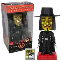 Funko V For Vendetta De Venganza Metalico Exclusivo Comi Con