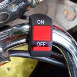Swich Apagador Interruptor Boton  Motocicleta Luces Foco