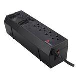 Regulador De Voltaje 4 Contactos Smartbitt Sbavr1200s 600w
