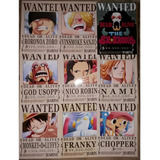 One Piece 10 Posters Envio Gratis 28x21 Se Busca Wanted +ace