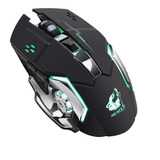 Mouse De Juego Free Wolf X8 Black