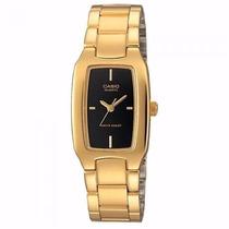 Reloj Casio Ltp-1165n-9b | Gold Tone | Watchito