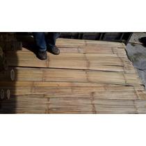 M2 Esterilla De Bambú Bambu Planchado Decora Techos Y Muros