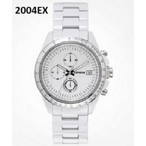 Reloj Express Blanco, Relojes Y Ropa De Hombre 100% Original