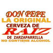 Cerveza De Raíz De Zarzaparrilla Jarabe Concentrado 1 Litro