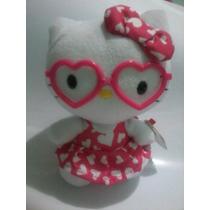 Peluche Hello Kitty Rosa Original Ty Lentes