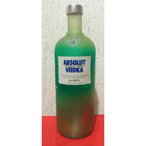 Botella De Absolut Vodka Unique. Edición Limitada Y Seriada