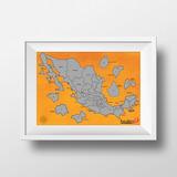 Mapa Rascable Estados De México