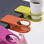 Porta Vasos Escritorio Deskcup Clip Mesa Envío Gratis