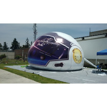 Domo Movil Casco De Astronauta Sin Anillos 10 Metros