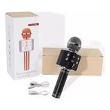 Microfono Inalambrico Karaoke Bocina Bluetooth Mp3 Celular