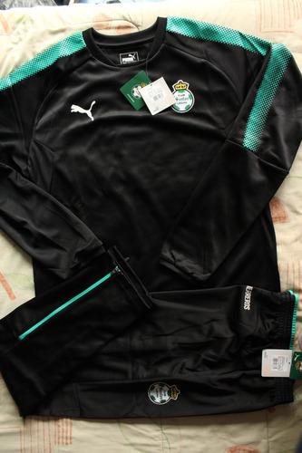 Conjunto Sudadera Y Pants Puma Santos Laguna 100% Original M 1f93bf31c290d