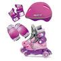 Patines Avigo Kids Rosa Incluye Kit De Proteccion