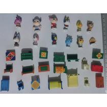 Figuras Originales Nintendo Animal Crossing 2.5 Cm Año 2001