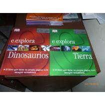 Enciclopedia E.explora Dinosaurios,mamiferos,insectos,momias