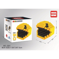 Figura Mini Blocks Video Juego Pacman