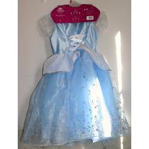 Disfraz Infantil De La Princesa Cenicienta De Disney