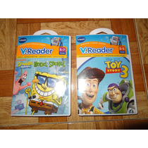 Vtech Juego Para Vreader Bob Esponja Toy Story 3