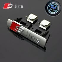 Emblema Audi Sline Para Parrilla, A3,a4,a5,a6,a8,q3,q5,