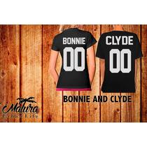Playeras14 De Febrero San Valentin Bonnie And Clyde