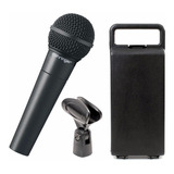 Micrófono Behringer Xm8500 Dinámico Cardioide Negro