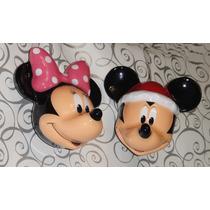 Mickey Mouse Esferas Navidad Figuras Disney Navideños Mimi