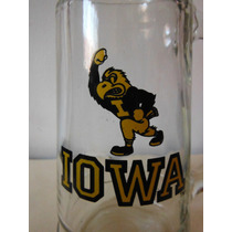 Tarro Iowa University Hawkeyes College Football Sports Retro