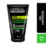 Gel Limpieza Facial Pure Charcoal L'oréal Paris Men Expert